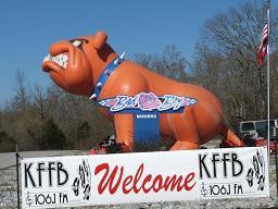 kffb-1061-fm-at-bad-boy-mowers-in-batesville