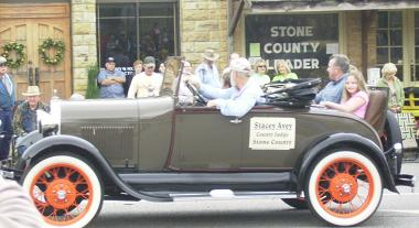 stone-county-judge-stacey-avey-in-the-folkfest-parade