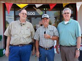 David Churchman, Dale Gardner and Bob Churchman