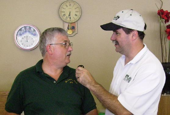 Jay Harris and Bob Connell talk about the Annual Diamond Dig