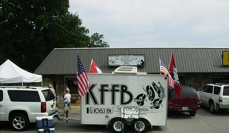KFFB on location at Jewelers Touch in Heber Springs