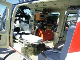 Inside the Air Evac