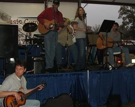 Red River Music Company provided great music preforming