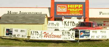 KFFB 106.1 on Location at Hipp Modern Builders 2