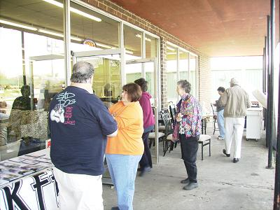 More folks looking for the great deals
