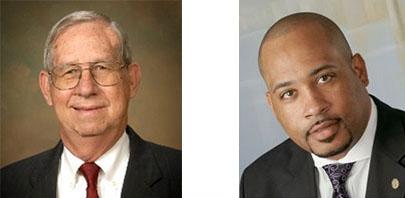 William M (Bill) Hegeman and Pastor E.C. Cornell Maltbia