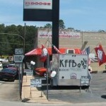 KFFB 106.1 on Location at Red River Dodge July  24 2010