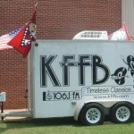 KFFB 106.1 on Location at White County Business Expo 2010