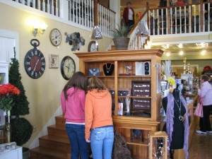 Lots of Shopping at The Cornerstone Shoppe