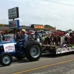 Tractors and floats