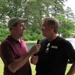 Bob Connell and Joel Cannady talk on the air about Seven Springs