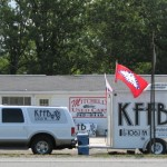 KFFB 106.1 on Location at Mitchell's Use Cars in Clinton