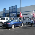 KFFB 106.1 on Location at Payton Chevrolet Great Truck Giveaway