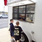 Kids love Payton Chevrolet and Petit Jean Hot Dogs