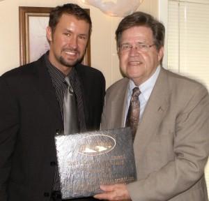 Adam Davis and Craig Ogilvie who received the Lifetime Achievement award