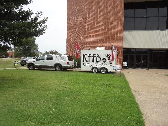 KFFB 106.1 on location at White County Expo July 31