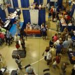Busy Day at the Health Fair