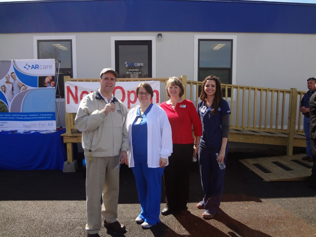 Bob, Robin Kerr APN, Sharon Oaks RN, Kristin Wood Rn with ARcare