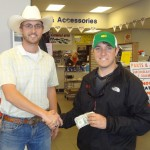 Justin congrats largest cash winner of the day