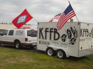 KFFB 106.1 on Location at Road Runner in Heber Springs