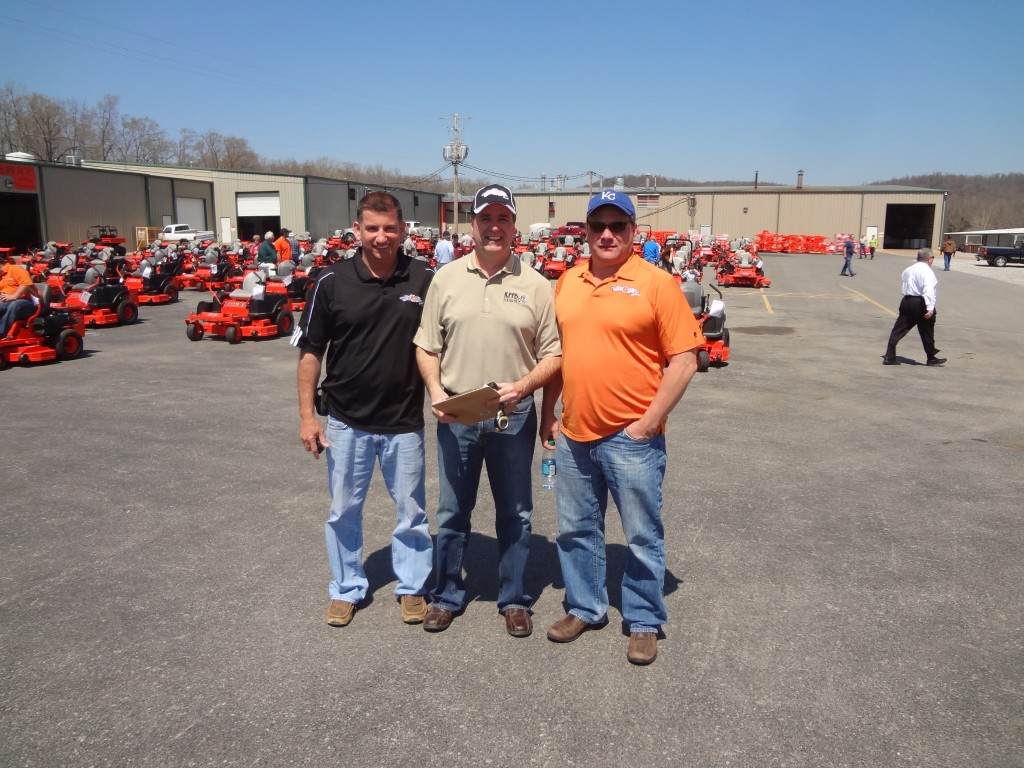 Some call them the Rat Pack Robert Foster owner Bad Boy, Bob Connell Owner of KFFB 106.1, and Phil Pulley owner of Bad Boy all take time out for a picture