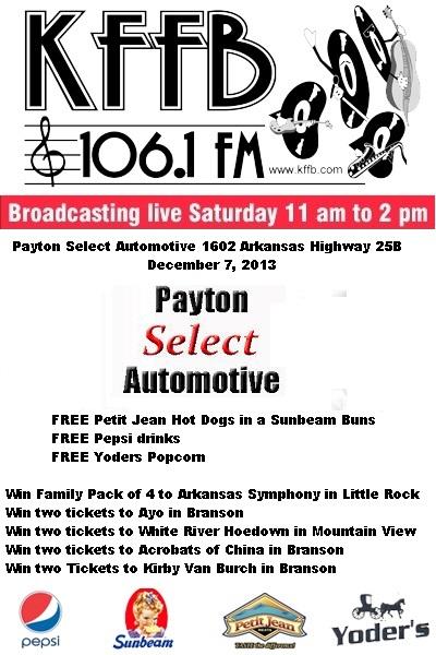 payton Select ad 2013-12-07