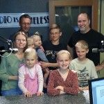 Weide Family at KFFB 106.1