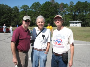 Bob Connell, Carl Garner and Ross More at the 2011 Greers Ferry Lake Little Red River Clean Up