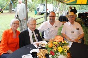 Mrs Carl Garner and Mr. Carl Garner Bob Connell and Mr. Johnson