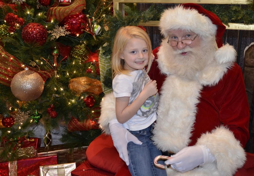 Santa at Citizens 2013 - with AutumnBurris