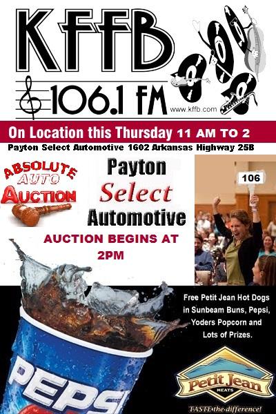payton select auction ad Thursday 10-31-2015
