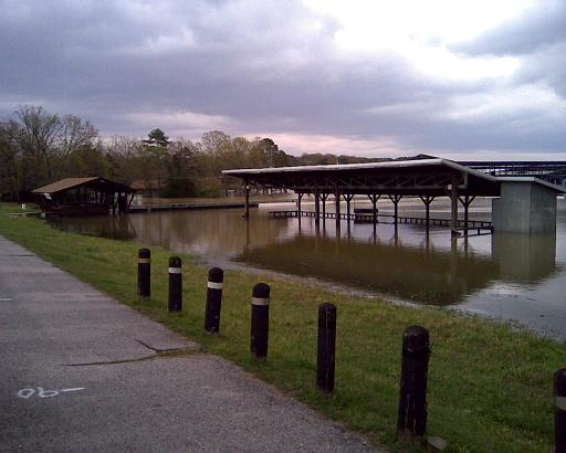 Greers Ferry Lake at Record High Level and High Levels for